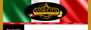 Annette's Gourmet Chili Website